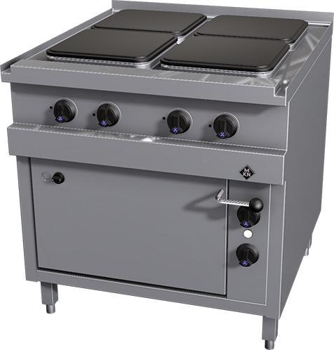 Mkn 4 Plaats Elektrisch Fornuis Met Oven 2023203